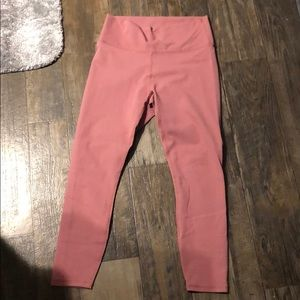 Fabletics size M dusty rose pink full length.